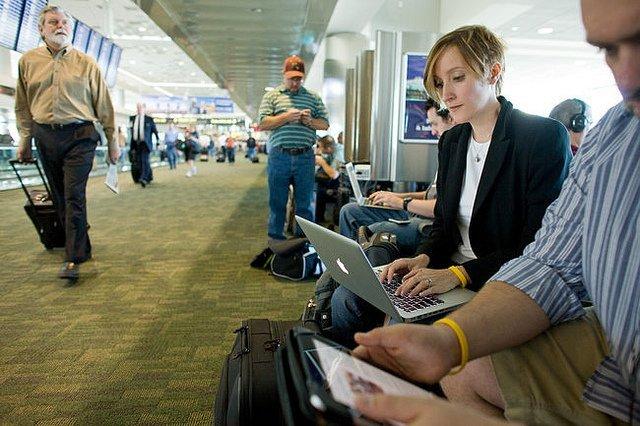 Business-Planewatching: Warum Flughäfen natürliches Habitat digitaler Nomaden sind